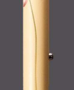 carbon verstelbare wandelstok met waterlelie als afbeelding