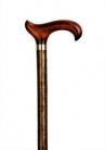 Country wandelstok hazelnoot is een unieke wandelstok gemaakt van natuurlijk gewassen hazelaarhout en is zijdemat gelakt. De handgemaakte stok bezit nog alle facetten van een stok direct uit de natuur.